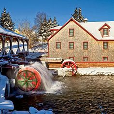 Canada's Prince Edward Island in the winter; coastalliving.com