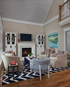 Traditional Transitional Coastal Interior Design Ideas Home Bunch An Luxury Homes Blog Living Room Paintpaint