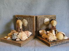 Bookends - Barn Wood - Beach Theme