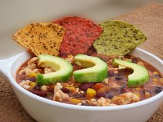 Simple Turkey Chili #healthy #quick