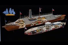 Cutaway    diagram    of the    USS    Monitor    USS    Monitor was innovative in several respects  including