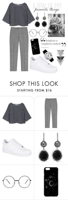 """""""hip-star"""" by combinestuff ❤ liked on Polyvore featuring MANGO, NIKE, Kimberly McDonald and Rosendahl"""