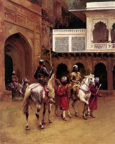 Indian Prince, Palace Of Agra   by Ernst Rudolf Vogenauer (b. 1897 in Munich, Germany d. 1969 in Berlin, German Democratic Republic, now Germany)