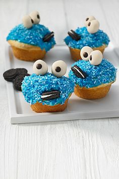 Krümelmonster-Muffins 5