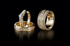 Oy Tillande Ab Diamond rings, http://www.tillander.fi/ #tillander #diamond #ring #rings #gold #wedding #engagement