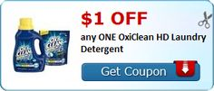 New Coupon!  $1.00 off any ONE OxiClean HD Laundry Detergent - http://www.stacyssavings.com/new-coupon-1-00-off-any-one-oxiclean-hd-laundry-detergent/