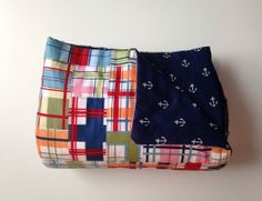 Madras & Anchors Outdoor Blanket/Picnic Blanket