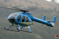 McDONNELL DOUGLAS MD600N N600HV helicopter, Photo : Stéphane Gimard, Cheltenham 2017