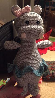Oda the hippo  #happylittlecrochet #grannystuff