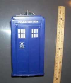 Dapol Dr Who Loose Tardis Working Light | eBay