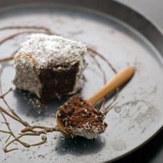 Double Chocolate Lamington