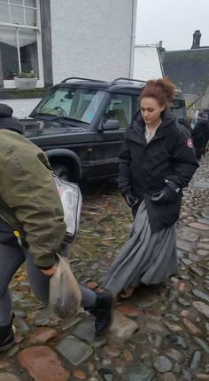 BRIANNA IN THE PAST OUTLANDER NEW FOTO