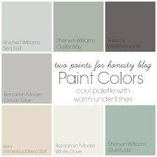 Farmhouse Paint Color Palettes Favorite Paint Colors
