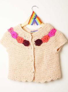 hippie chic invierno - Buscar con Google Summer Knitting, Knitting For Kids, Crochet For Kids, Baby Knitting, Knit Crochet, Baby Staff, Crochet Bunting, Baby Girl Crochet, Crochet Magazine