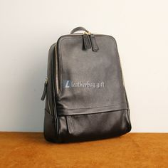 Simple and subtle design, with noble and non-porous black leather and many zipper compartments, makes the Backpacks for School simple but not dull. Black Leather Backpack, Leather Bag, School Backpacks, Style Icons, Fashion Backpack, Bags, Handbags, Leather Satchel, Dime Bags