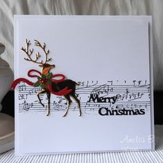 Hello friends, A clean and simple Christmas card to share today. I decided to join a few Christmas themedchallenges and with Christmas just around the corner it is a perfect opportunity to add ano…