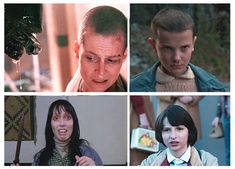 #strangerthings #reference #faces #mike #011 #Eleven #hawkins