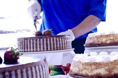 Creamy Chocolate Cake & Cheese Cake!   -Royal Catering Team
