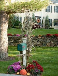 Fall Landscaping Ideas mailbox flowerssteve n dede, via flickr   you've got mail
