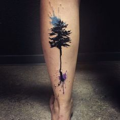 "97 Likes, 4 Comments - Lina Tattoo Art (@lina_tattoo_artist) on Instagram: ""#noia #noiia #noiiaberlin #abstract #abstractart #tattoo #brush #stroke #line #atom #circle #blue…"""