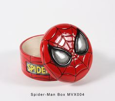 MVX 004 - Spiderman Box Spiderman, Paint Your Own Pottery, Ceramic Bisque, Pottery Painting, Ceramics, Superhero, Box, Hulk, Characters