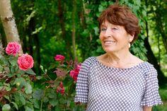Une rose sublime pour une jardinière exceptionnelle...