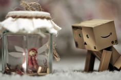 Danbo  and the fairy firefly