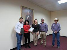 En días pasados la alcaldesa Miriam Caballero Arras, recibió a personal de FACIATEC, quienes realizaron el estudio denominado