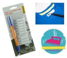 Etiquettes Thermocollantes Vêtements (X30)