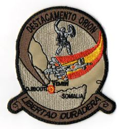 SPANISH AIR FORCE P3 ORION ENDURING FREEDOM 2004 PATCH