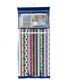 This Deluxe Wrapping Paper Organizer is perfect! #zulilyfinds