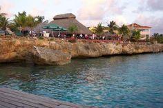 bonaire netherlands antilles, Buddy Dive Resort, Open Air Restaurant