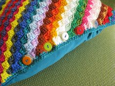 The crochet cabana blog has a great article about donating.