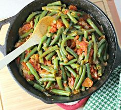 Creole Green Beans. (Click on link in article for recipe.)