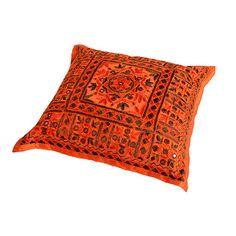 Oranje sierkussens op pinterest paarse kussens roze kussens en groene kussens - Kussen oranje en bruin ...