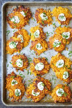 Butternut Squash Fritters - These are easier to make than you think, low calorie, addictive and amazingly crisp-tender! A must-have appetizer for everyone! Veggie Dishes, Vegetable Recipes, Vegetarian Recipes, Cooking Recipes, Side Dishes, Dishes Recipes, Healthy Recipes, Diabetic Recipes, Potato Recipes