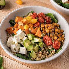 This colourful, meatless main is packed with protein and will satisfy even the heartiest of appetites. It's perfect as a portable lunch or...