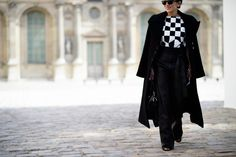 On the Streets of Paris Fashion Week Fall 2015 - Paris Fashion Week Fall 2015 Street Style Day 3