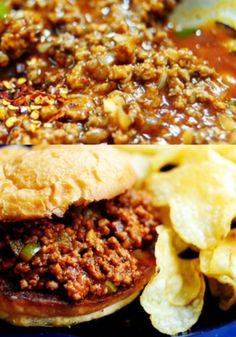 Super Bowl Sunday Ideas: Sloppy Joes