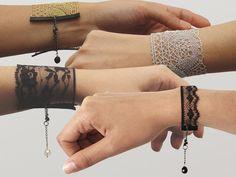 Bracelaces: pulseirinhas de renda <3