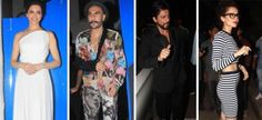 Bollywood Celebs Spotted At Deepika Padukone's Piku Success Party!