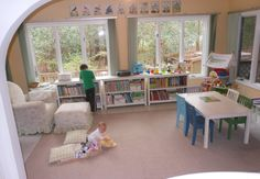 Natural Beach Living: Homeschool Room with a View