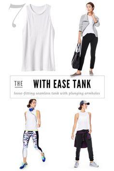 3 Ways To Wear It | With Ease Tank $49 | Athleta