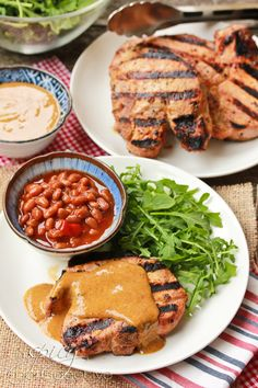 ... Pork Recipes | Pinterest | Pork Chops, Grilled Pork Chops and Grilled