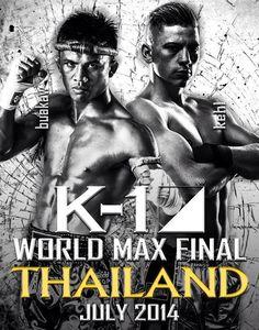 K-1 kündigt Max Finale für Juli in Thailand an