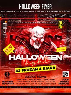 Halloween Flyer by studiorgb   GraphicRiver