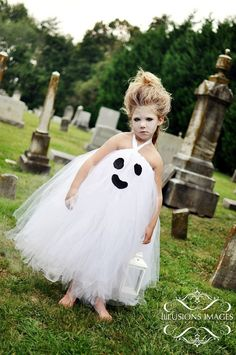 Ghost Tutu Dress - How cute!