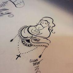 Картинки по запросу desenho mae e filha tattoo
