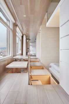 White Walls and In-Floor Storage Make This Creative House Design Special