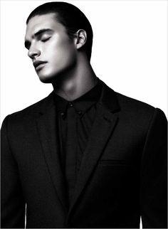 Matthew Terry by Natth Jaturapahu for Harper's Bazaar Men Thailand
